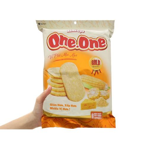 Bánh gạo ngọt one one vị phô mai bắp 118g - 12851850 , 20793923 , 15_20793923 , 25000 , Banh-gao-ngot-one-one-vi-pho-mai-bap-118g-15_20793923 , sendo.vn , Bánh gạo ngọt one one vị phô mai bắp 118g