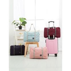 Túi xách du lịch không thấm nước vải dù dùng đi du lịch picnic đi công tác đi phượt 48cm x 32cm x 16cm S T