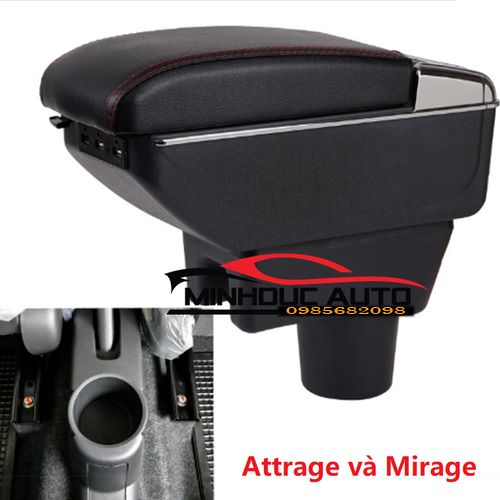 Hộp tỳ tay cho xe mirage và attrage có cổng usb - 12852669 , 20795081 , 15_20795081 , 490000 , Hop-ty-tay-cho-xe-mirage-va-attrage-co-cong-usb-15_20795081 , sendo.vn , Hộp tỳ tay cho xe mirage và attrage có cổng usb