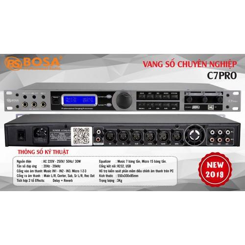 Vang số cao cấp nhập khẩu bosa c7 pro-xử lý âm thanh hiệu quả - 12852455 , 20794845 , 15_20794845 , 7900000 , Vang-so-cao-cap-nhap-khau-bosa-c7-pro-xu-ly-am-thanh-hieu-qua-15_20794845 , sendo.vn , Vang số cao cấp nhập khẩu bosa c7 pro-xử lý âm thanh hiệu quả