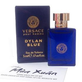 Nước hoa Versace Pour Homme Dylan Blue Eau De Toilette 5ml - 8011003825752