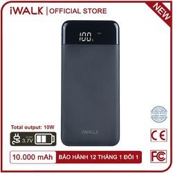 Pin Sạc dự phòng iWALK 10,000mAh, 3.7V Li-Polymer - UBU10000