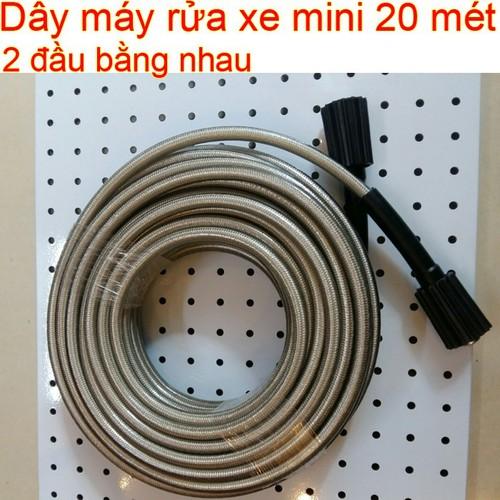 Cuộn dây máy rửa xe mini gia đình dài 20 mét - Phụ kiện máy bơm nước áp lực cao xịt rửa - 11685776 , 20775763 , 15_20775763 , 380000 , Cuon-day-may-rua-xe-mini-gia-dinh-dai-20-met-Phu-kien-may-bom-nuoc-ap-luc-cao-xit-rua-15_20775763 , sendo.vn , Cuộn dây máy rửa xe mini gia đình dài 20 mét - Phụ kiện máy bơm nước áp lực cao xịt rửa