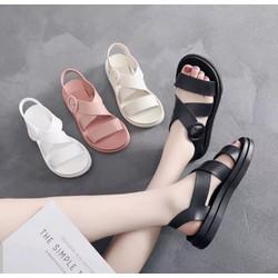 Giày sandal nhựa nữ thoải mái đi mưa hàng nhập