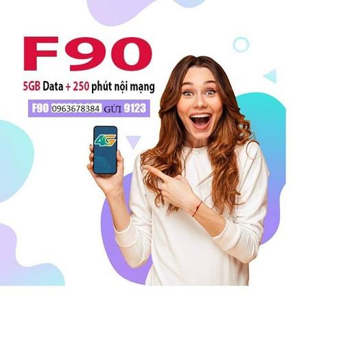 Sim viettel f90 thay thế cho v90 mới nhất