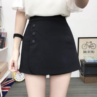 Quần Giả Váy Chữ A Phối Cúc - Quần Giả Váy thumbnail
