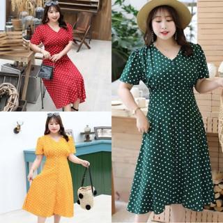 Đầm dáng suông chấm bi Bigsize cao cấp - BIG9 thumbnail