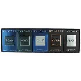 Bộ quà tặng BVLgari The Mens Gift Collection 5 5ml  - 783320977107