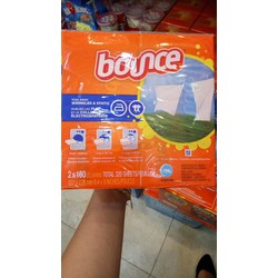 Giấy thơm Bounce Mỹ combo 2 hộp 320 tờ