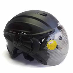 Mũ bảo hiểm nửa đầu có kính GRS A737k cam kết bền đẹp chính hãng ko phải trả lại shop