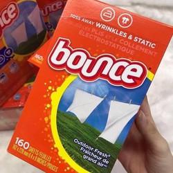Giấy thơm quần áo Bounce 160t - 4in1