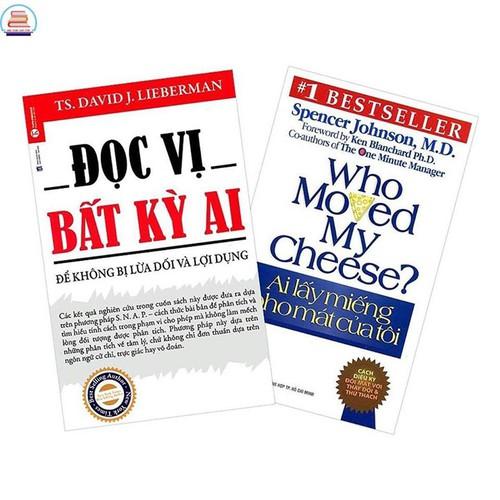 Sách - combo 2 cuốn đọc vị bất kỳ ai + ai lấy miếng pho mát của tôi - 12864947 , 20812099 , 15_20812099 , 107000 , Sach-combo-2-cuon-doc-vi-bat-ky-ai-ai-lay-mieng-pho-mat-cua-toi-15_20812099 , sendo.vn , Sách - combo 2 cuốn đọc vị bất kỳ ai + ai lấy miếng pho mát của tôi