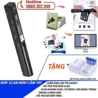 [TẶNG] Bộ pin sạc DP B02 dung lượng cao KHI MUA Máy scan màu di động độ nét cao iScan 900DPI - Scan ảnh siêu nhanh - Máy Quét Tài Liệu iScan Mini Cầm Tay Định Dạng JPG Và PDF - Máy Scan + Bộ pin sạc DP B02 thumbnail
