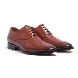 Giày Tây Nam Cao Cấp Banuli H1PO1M0. Giày Tây Oxford Da Bò Cao Cấp