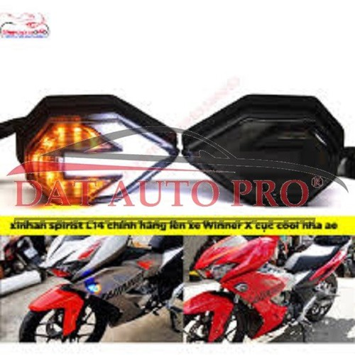 Bộ đèn led xi nhan+demi cao cấp mũi tên spirit beast dùng cho tất cả xe máy oto.