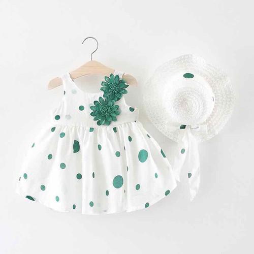 Đầm váy cho bé kèm nón size 8 tháng -4 tuổi - 11638344 , 20818368 , 15_20818368 , 219000 , Dam-vay-cho-be-kem-non-size-8-thang-4-tuoi-15_20818368 , sendo.vn , Đầm váy cho bé kèm nón size 8 tháng -4 tuổi