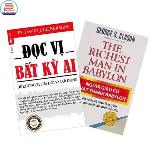 Sách - combo 2 cuốn đọc vị bất kỳ ai + người giàu có nhất thành babylon - 12865952 , 20813220 , 15_20813220 , 127000 , Sach-combo-2-cuon-doc-vi-bat-ky-ai-nguoi-giau-co-nhat-thanh-babylon-15_20813220 , sendo.vn , Sách - combo 2 cuốn đọc vị bất kỳ ai + người giàu có nhất thành babylon