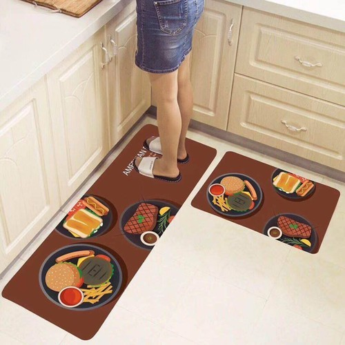 Thảm bếp 3d siêu thấm- thảm nhà bếp