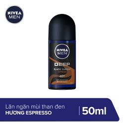 Lăn ngăn mùi Nivea Than Đen Hương Espresso 50ML - 85366