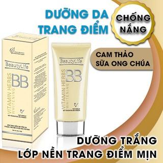 Kem trang điểm dưỡng trắng da Beauty Life BB01 50g - F0009., thumbnail