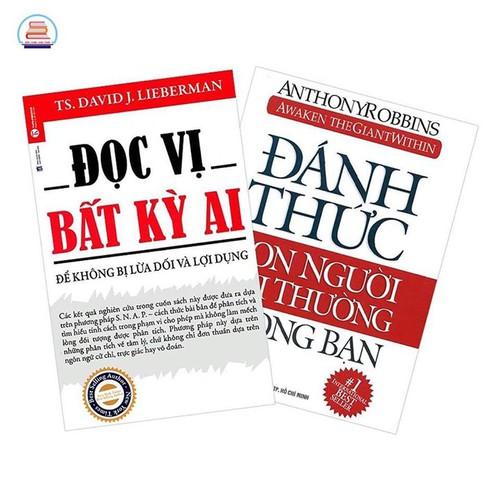 Sách - combo 2 cuốn đọc vị bất kỳ ai + đánh thức con người phi thường trong bạn - 17397575 , 20813456 , 15_20813456 , 203000 , Sach-combo-2-cuon-doc-vi-bat-ky-ai-danh-thuc-con-nguoi-phi-thuong-trong-ban-15_20813456 , sendo.vn , Sách - combo 2 cuốn đọc vị bất kỳ ai + đánh thức con người phi thường trong bạn