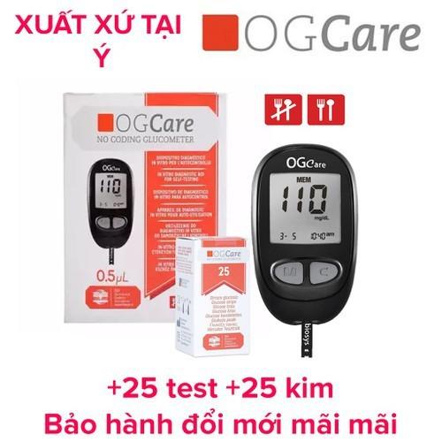 Máy đo đường huyết ogcare - 12864519 , 20811631 , 15_20811631 , 450000 , May-do-duong-huyet-ogcare-15_20811631 , sendo.vn , Máy đo đường huyết ogcare