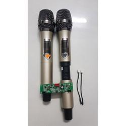 [SIÊU SALE]Micro loa kéo chỉnh tần số và volume ngay trên micro.