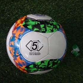 quả bóng đá số 5 da cao cấp- tặng bộ kim túi- 2 đôi tất dài đá bóng. - bd20