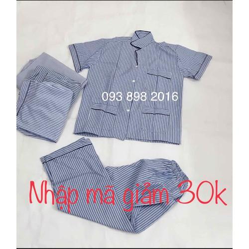 Ảnh thật bộ pijama pirama pyjama mặc nhà cộc tay kẻ sọc nam trung tuổi cho bố hàng việt nam - 12855748 , 20799626 , 15_20799626 , 160000 , Anh-that-bo-pijama-pirama-pyjama-mac-nha-coc-tay-ke-soc-nam-trung-tuoi-cho-bo-hang-viet-nam-15_20799626 , sendo.vn , Ảnh thật bộ pijama pirama pyjama mặc nhà cộc tay kẻ sọc nam trung tuổi cho bố hàng việt