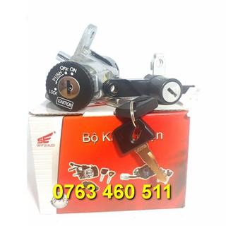 ổ khóa xe sirius nhật 2 dây - ổ khóa xe sirius nhật 2 dây thumbnail