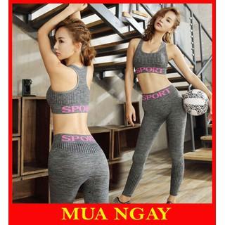 Bộ Đồ Tập Gym Yoga - SP02 thumbnail