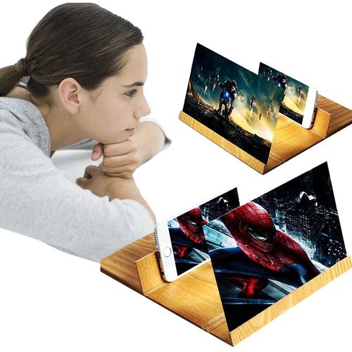 Kính 3d phóng to màn hình điện thoại 12inch tiện lợi