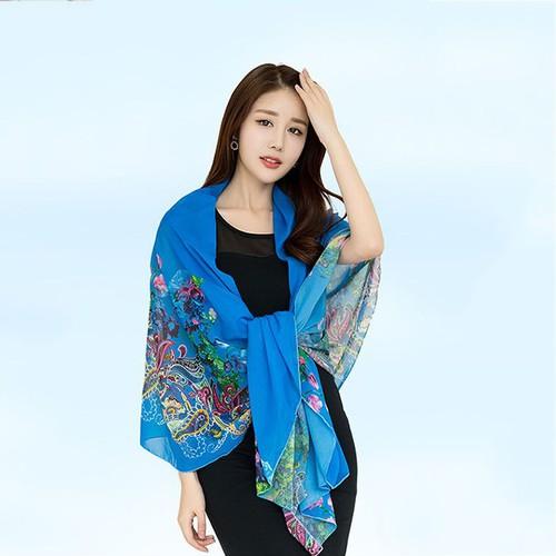 Khăn choàng cổ lụa hàng châu bách hoa đua sắc màu xanh dương kl19m01 - 12881102 , 20834169 , 15_20834169 , 434000 , Khan-choang-co-lua-hang-chau-bach-hoa-dua-sac-mau-xanh-duong-kl19m01-15_20834169 , sendo.vn , Khăn choàng cổ lụa hàng châu bách hoa đua sắc màu xanh dương kl19m01