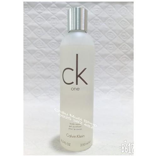 Sữa tắm nước hoa calvin klein ck one -250ml - hàng xách tay mỹ
