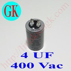 Tụ dầu 4uf 400V - tụ quạt công nghiệp