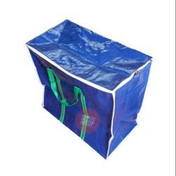 Túi bạt 2 da có dây kéo (nhiều cỡ) đựng rất nhiều đồ dùng cá nhân có tay xách nên rất tiện dụng thích hợp khi di chuyển