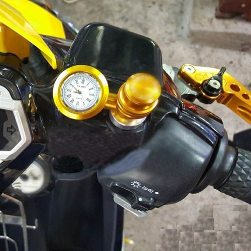 Đồng hồ + cổng sạc usb gắn xe máy hàng đẹp giá tốt