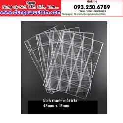 Phơi nhựa đựng tiền xu 20 xu PCCB-MINGT 20 ô, khổ 4.5cm