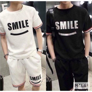 FREESHIP_XẢ HÀNG_BỘ THỂ THAO NAM LOGO SMILE CAO CẤP - SMILE thumbnail