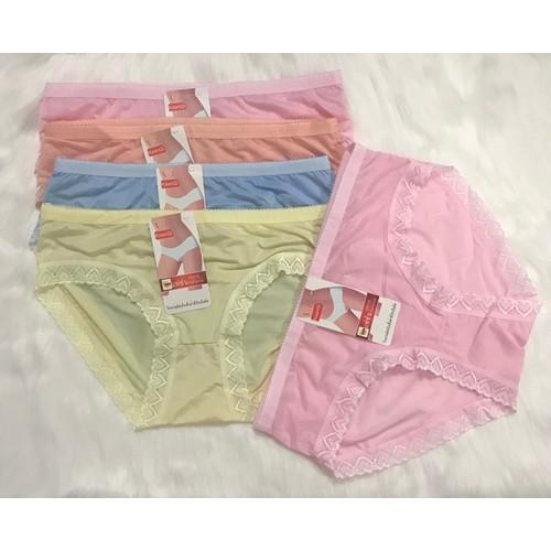 Combo 5 cái quần lót cotton nữ phối ren siêu đẹp chất xịn sò - 12888677 , 20843892 , 15_20843892 , 99000 , Combo-5-cai-quan-lot-cotton-nu-phoi-ren-sieu-dep-chat-xin-so-15_20843892 , sendo.vn , Combo 5 cái quần lót cotton nữ phối ren siêu đẹp chất xịn sò