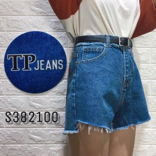 [Ảnh thật, video thật] quần short jeans nữ ulzzang lưng cao cườm  s573100