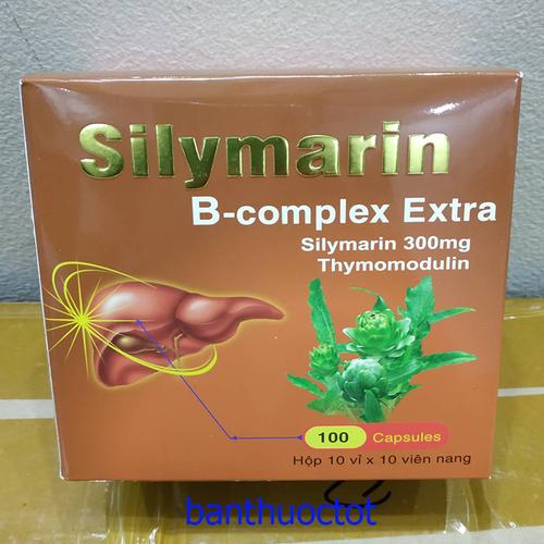 Viên uống bổ gan silymarin b-complex extra