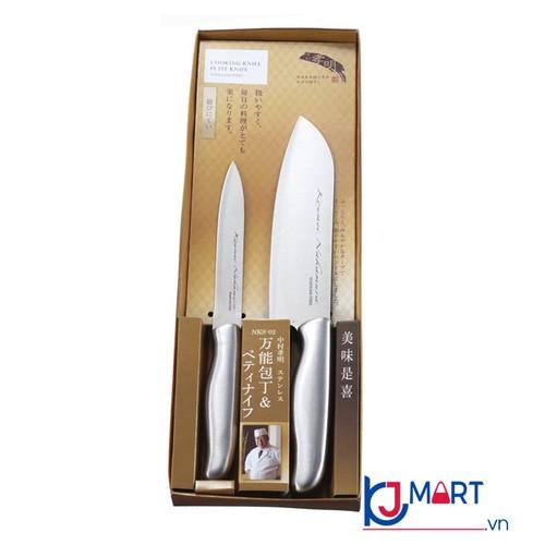Set 2 dao làm bếp nakamura nhật bản