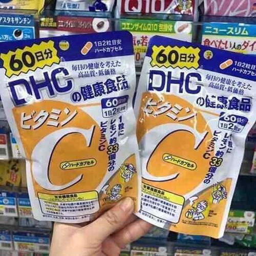 Dhc vitamin c nhật bản hàng bill