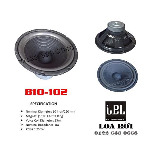 Loa bass rời b10-102 - bass 25 phi 100 c25x4 tầng xm - 1 chiếc