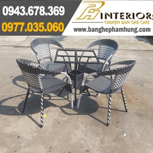 Bộ bàn ghế cafe mây nhựa cao cấp giá rẻ - 12884825 , 20838997 , 15_20838997 , 1850000 , Bo-ban-ghe-cafe-may-nhua-cao-cap-gia-re-15_20838997 , sendo.vn , Bộ bàn ghế cafe mây nhựa cao cấp giá rẻ