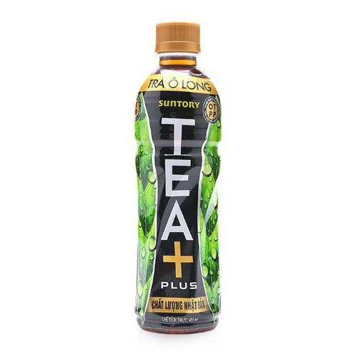 Trà ôlong tea plus 1 lốc 6 chai 455ml