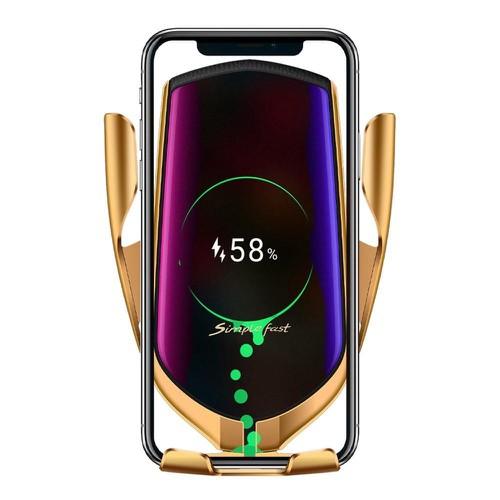 Sạc không dây kiểu giá đỡ điện thoại trên ô tô