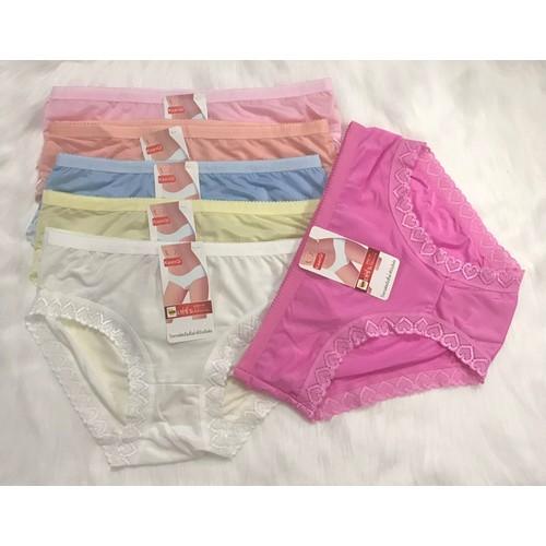 Combo 10 cái quần lót cotton nữ phối ren siêu đẹp chất xịn sò - 12888753 , 20843976 , 15_20843976 , 169000 , Combo-10-cai-quan-lot-cotton-nu-phoi-ren-sieu-dep-chat-xin-so-15_20843976 , sendo.vn , Combo 10 cái quần lót cotton nữ phối ren siêu đẹp chất xịn sò