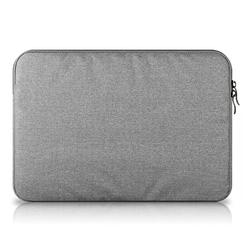 Túi chống sốc Macbook cao cấp 15 inch Đồ Da Thành Long TLG 208189 Ghi xám , tặng 01 bút bi cao cấp